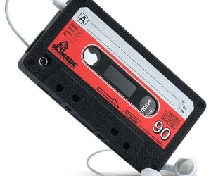 IPhone Cassette Tape Case Looks Like the Real Deal