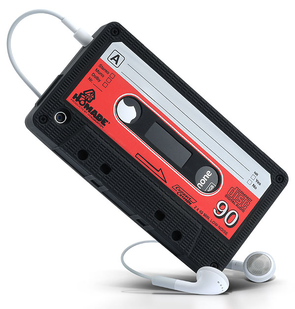 iphone cassette case