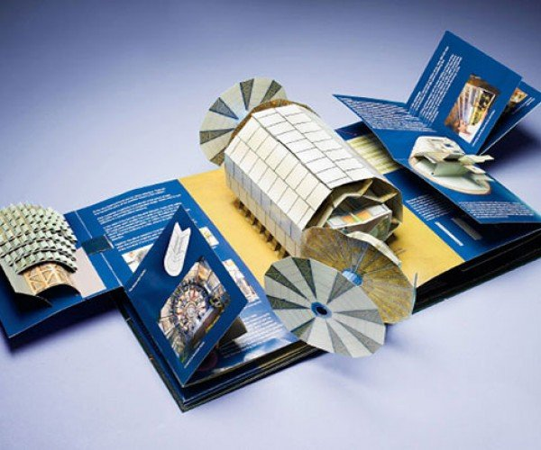 Large Hadron Collider Pop-Up Book Will Not Open Up a Mini-Wormhole. I Think.