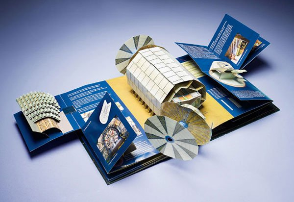 large hadron collider pop up book