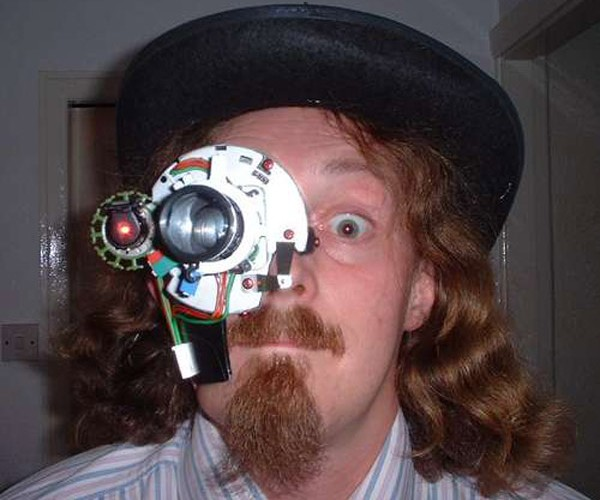 Laser Monocle Headpiece: for Accurate Stare-Downs