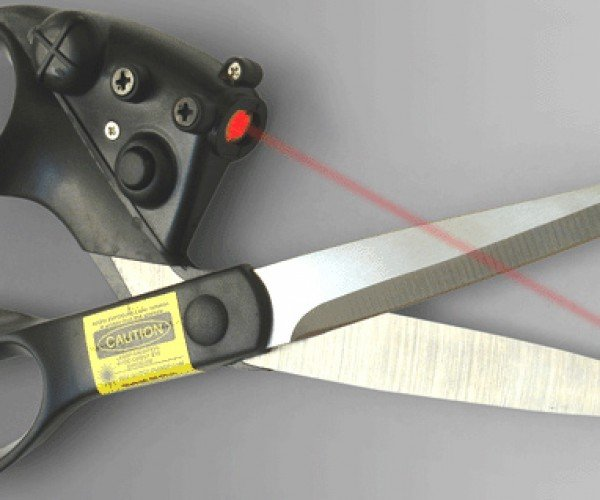Laser Scissors: Cutting Edge