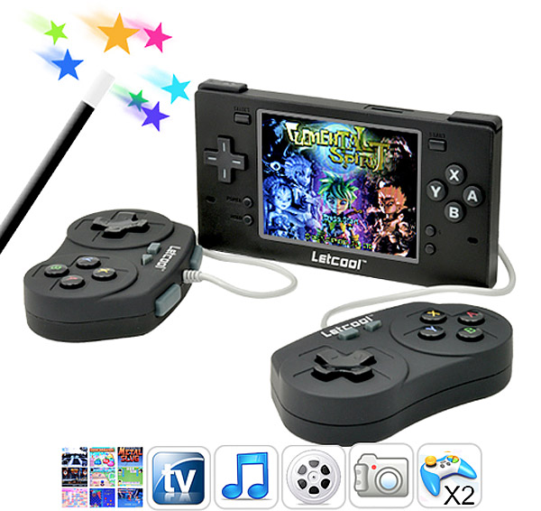 letcool portable game emulator