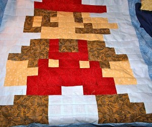 mario crib quilt by geek unique 300x250