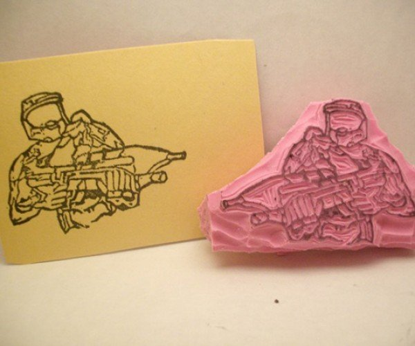 Master Chief Approves of This Stamp