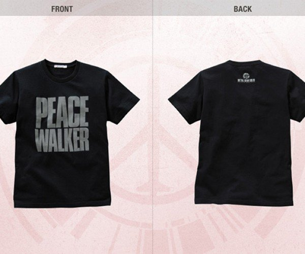 Metal Gear Solid Peace Walker Uniqlo Shirts: Buy 1 Shirt, Get 1 Soldier