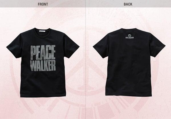 metal gear peace walker uniqlo shirts 1