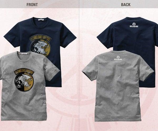 metal gear peace walker uniqlo shirts 2