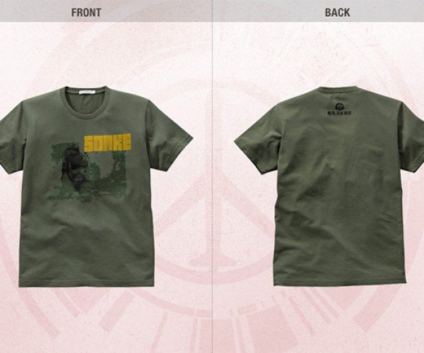 metal gear peace walker uniqlo shirts 4
