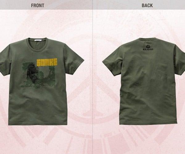 metal gear peace walker uniqlo shirts 4