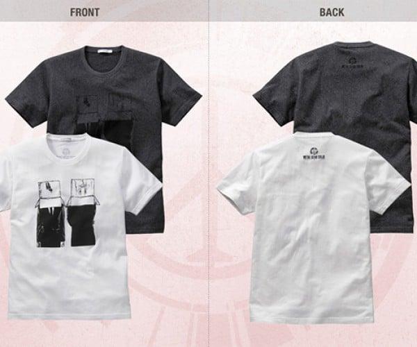 metal gear peace walker uniqlo shirts 5