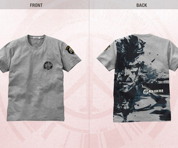 metal gear peace walker uniqlo shirts 6