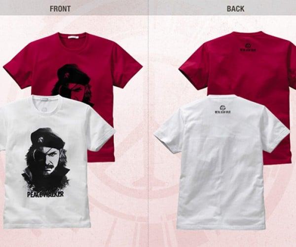 metal gear peace walker uniqlo shirts 7