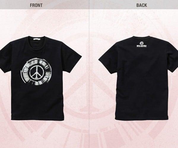 metal gear peace walker uniqlo shirts 8
