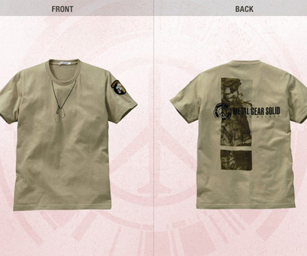 metal gear peace walker uniqlo shirts 9