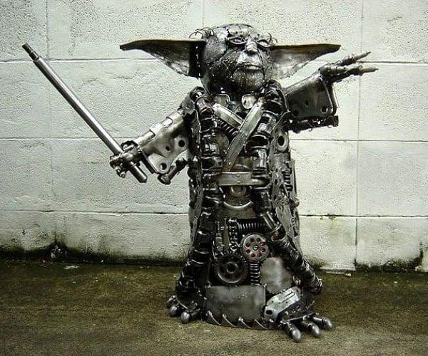 Buy This Metal Yoda, You Will.