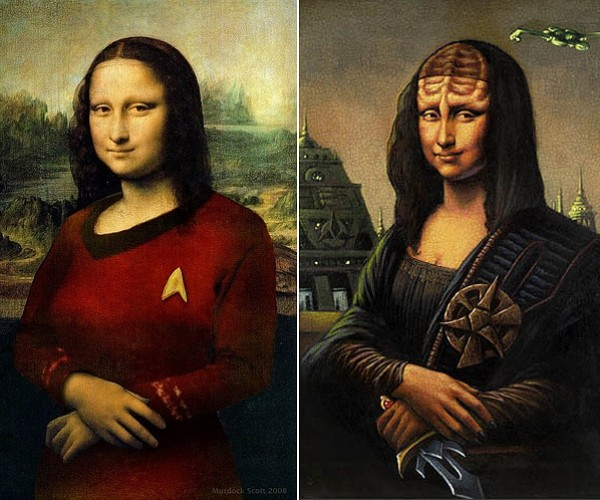 What Do the Mona Lisa and Star Trek have in Common?