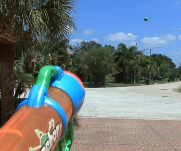 High Power Nerf Cannon Mod Fires Balls Up to 75 Feet