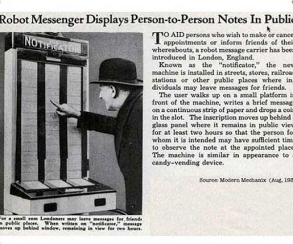 Notificator: Primitive Twitter or High-Tech Bulletin Board?