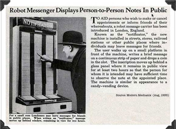 notificator 20th century twitter