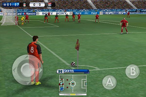 pro evolution soccer 2010 iphone