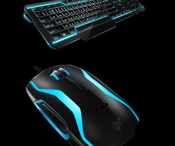 Razer TRON Gaming Keyboard and Mouse Will Up Your Geek Cred