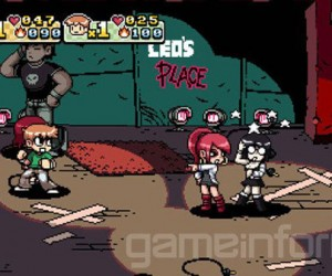 Scott Pilgrim Vs. the World the Game: Comical Brawling