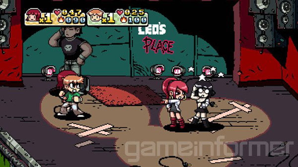 scott pilgrim vs the world game 1