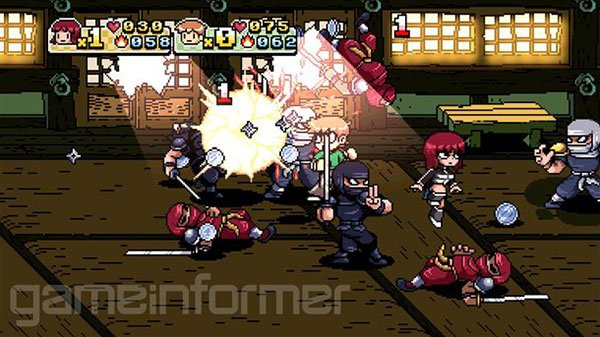scott pilgrim vs the world game 2