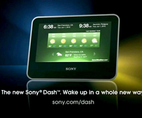 Wake Up With Sony Dash