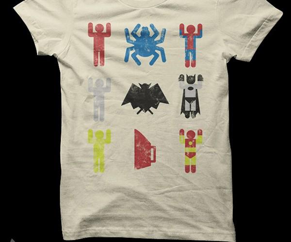 Super Heroic Minimalism: Man + Noun = Superhero
