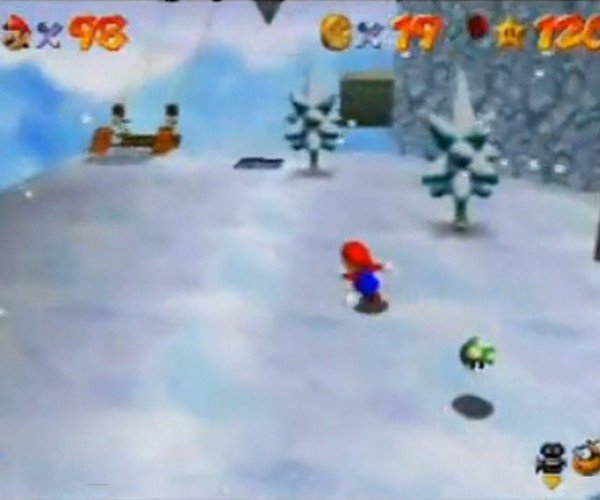 Super Mario 64 Challenge: Can You Outrun the 1-Up 'Shroom?