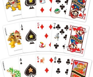 Super Mario Playing Cards: Bowser Really is a Joker