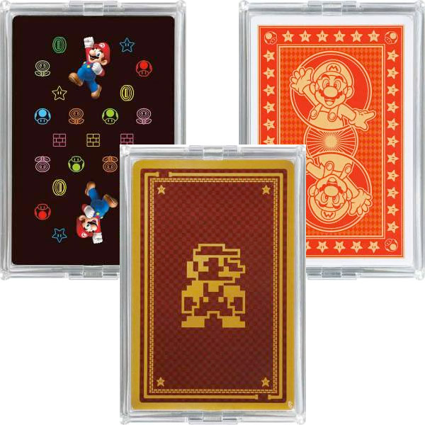 super mario playing cards 2