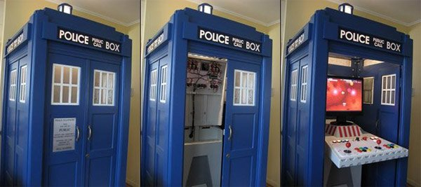 Tardis Mame Cabinet Should Be Called The Quot Tar Cade Quot But