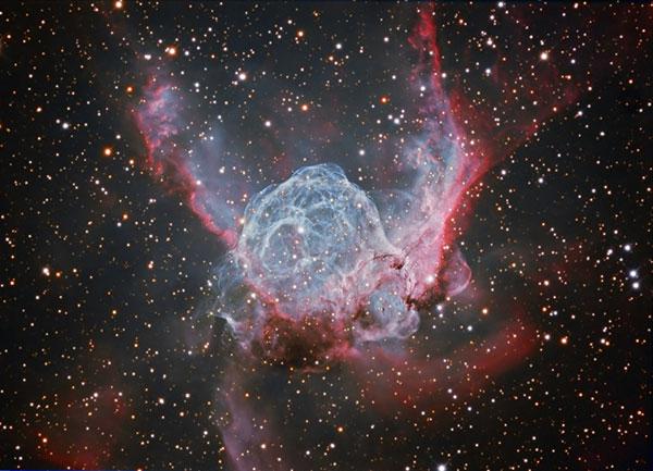 thors helmet interstellar bubble