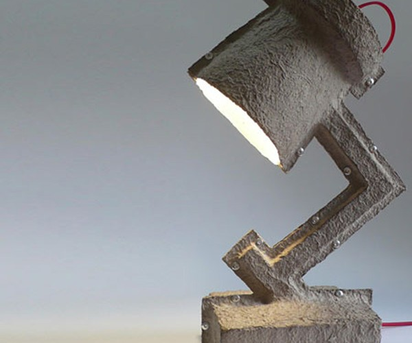 Trash Me Recyclable Lamps: Made Not to Last
