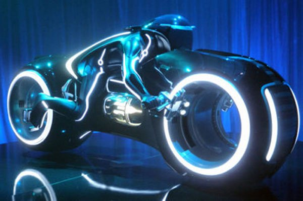 Tron Legacy motorcycle