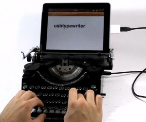 USB Typewriters: the Ultimate Retro Keyboards