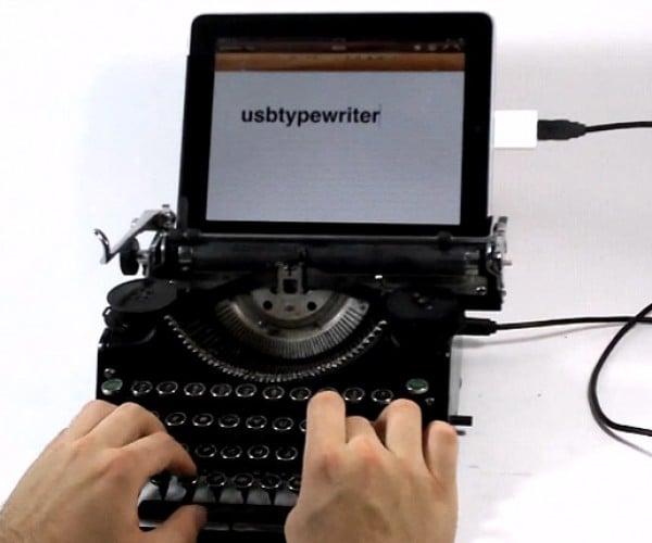 USB Typewriters: the Ultimate Retro Keyboards