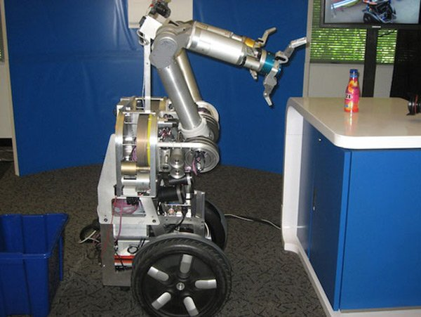 intel robot butler herb kitchen