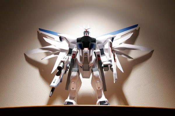freedom japan papercraft gundam toys