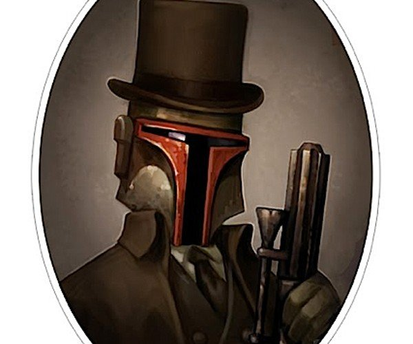 Star Wars Goes Out on the Town, Victorian-Style