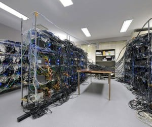 Grape-Dr Supercomputer is the Greenest of Them All, but a Cable Nightmare!