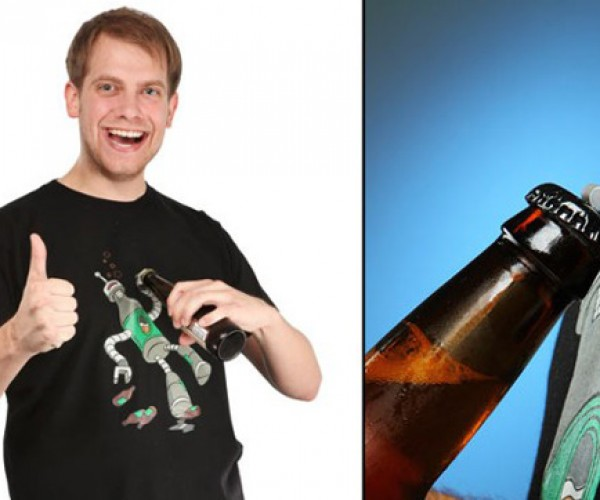 Beerbot Shirt: is That a Bottle Opener on Your Chest, or Are You Just Glad to See Me?