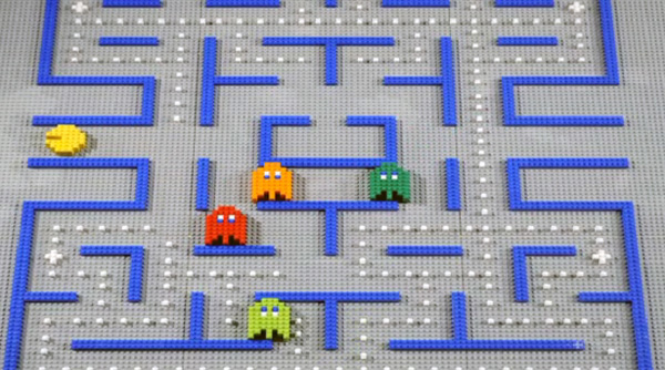 rymdreglage stop motion lego video video games 8-bit-trip