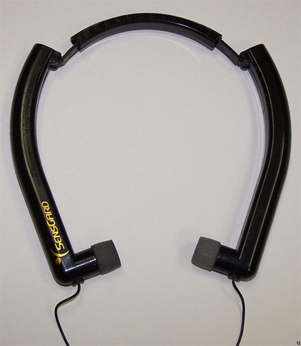 sensgard zem noise-canceling headphones