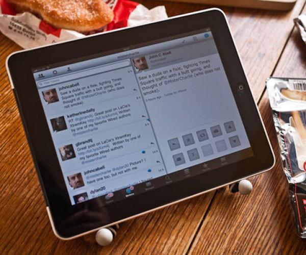 Gorillapod as iPad Stand: Reusabilty is Fun!