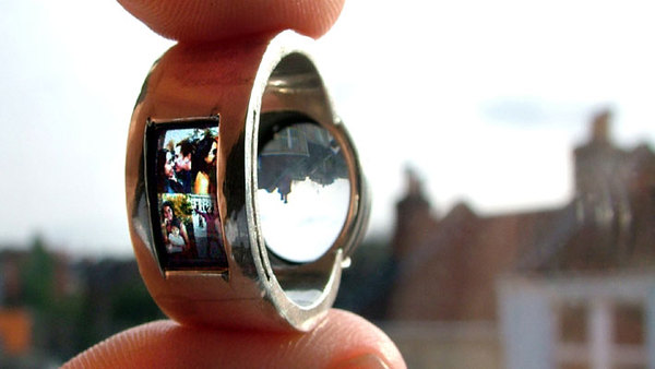 Ring Projector Cool Wedding Ring Or Pocket Sized Bat