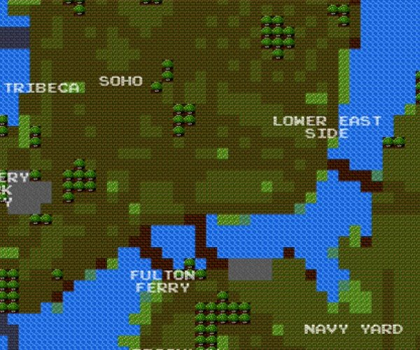 8-Bit City Maps: More Interesting (and More Pixel-Y) Than Google Maps